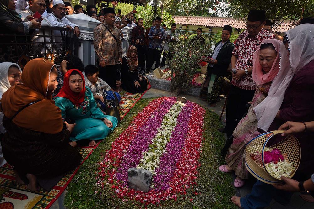 Kyai Haji Abdurrahman Wahid's grave.