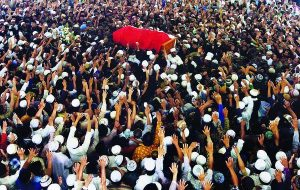 Funeral in Jombang, East Java